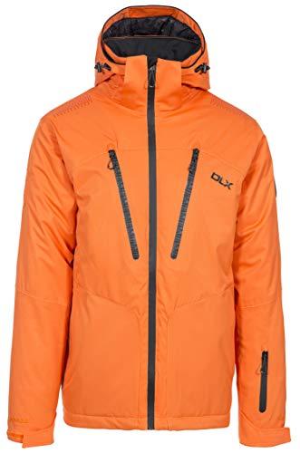 DLX Herren Warme Wasser und Winddichte Skijacke BANNER, Orange, S, MAJKSKTR0001_ORAS