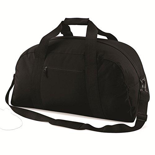 Bag Base Mixte Bg022blac Classique Sac fourre-Tout Sac à Dos, Noir, Medium