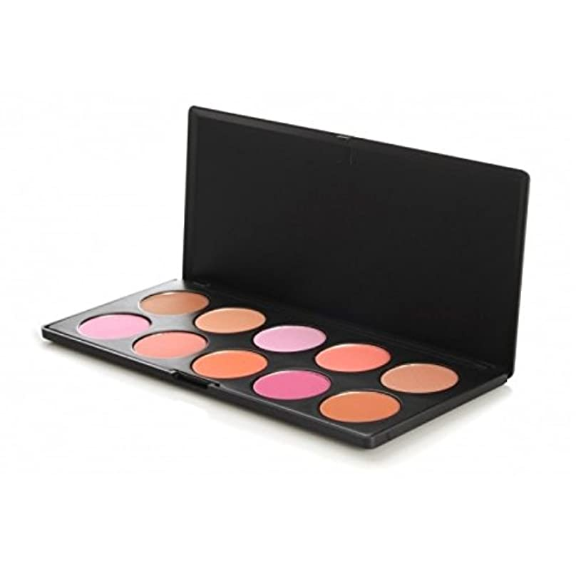 時間彼の時々時々10 Piece Professional Blush Palette