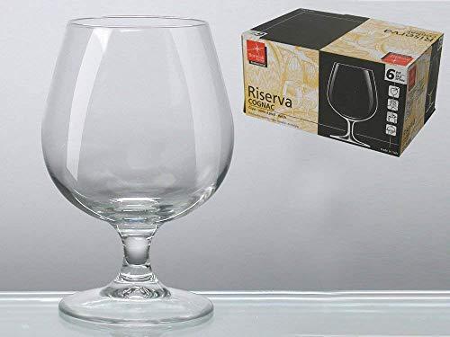 Pedrini 21981 - Set de 6 copas de coñac