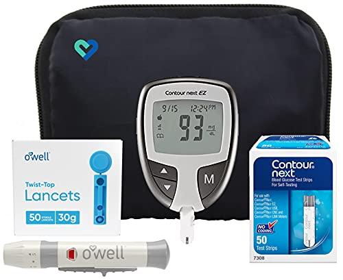 Contour Next EZ Diabetes Testing Kit | Contour Next EZ Blood...