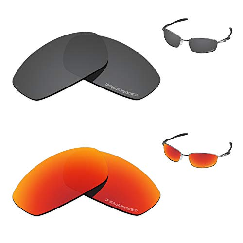Tintart Performance Replacement Lenses for Oakley Blender Polarized Etched - Value Pack