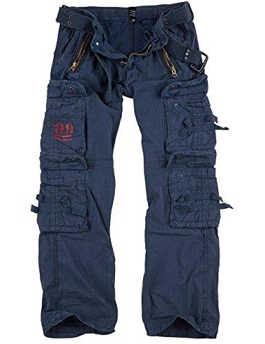 Surplus Royal Traveler Trousers, Royalblue, XL