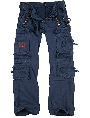 Surplus Royal Traveler Trousers, Royalblue, XL