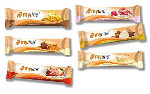 Inko Myline Riegel Mix-Box Protein Eiweiß L-Carnitin 24 x 40g (mindestens 5 verschiedene Geschmäcker gemischt)