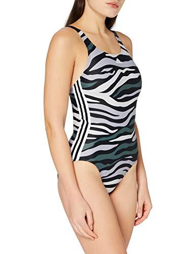 adidas Damen Sh3.Ro Wild3S Bikini-Set, Black/Greone/Legblu, 40