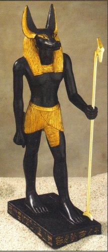 Figura coleccionable de Anubis egipcia