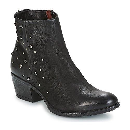MJUS DALLY STAR Enkellaarzen/Low boots dames Zwart Laarzen