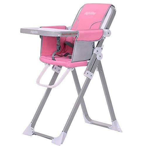 New Cute Baby Chair and Booster, Foldable Baby high Chair - PP/Steel, 6 Months - 36 Months Baby Mult...