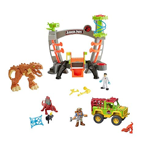 Fisher-Price Imaginext Jurassic World Research Lab Gift Set, Multicolor