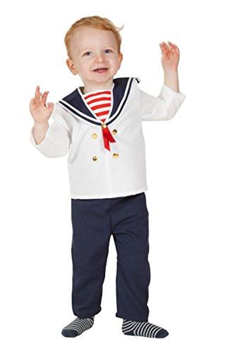 Wilbers Marine Kinder Kostüm Baby Matrose Karneval Fasching Gr.98