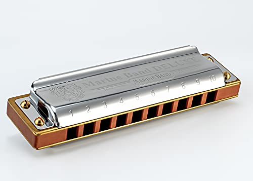 Hohner Marine Band Deluxe M200501 x C - Armónica