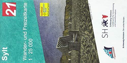 Insel Sylt 1 : 25 000: Wander- und Freizeitkarte