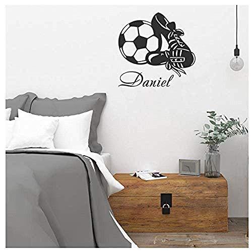 Muursticker voetbalschoenen patroon kerststicker PVC vinyl woonkamer slaapkamer huis raam badkamer kantoor slaapkamer winkel decor 80 x 83 cm