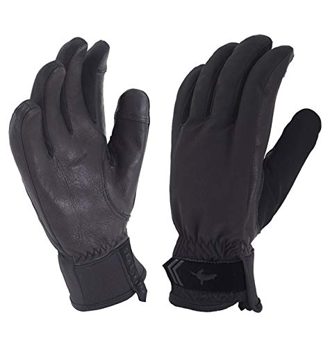 SEALSKINZ Unisex Waterproof All Weather Insulated Glove, Black, One Size