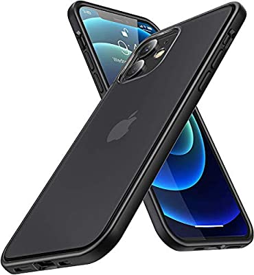 Humixx Compatible with iPhone 12 Case/iPhone 12 Pro Case Cover [Military Grade Drop Test] [Upgraded Nano Material] Translucent Matte Case with Soft TPU Bumper, Protective Case for iPhone 12/12 Pro