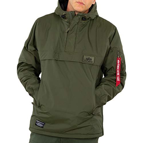 ALPHA INDUSTRIES Herren Winterjacke WP Anorak, Farbe:Dark Green, Größe:2XS
