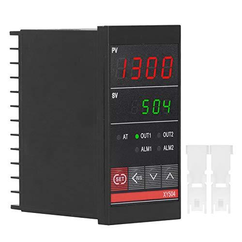 Controlador inteligente inteligente de temperatura PID, 100-240VAC 50/60HZ 48 x 96 x 78mm relé industrial general con ABS