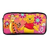 Astuccio Winnie The Pooh Tigger Piglet cerniera portapenne per ufficio, scuola e cosmetici