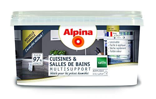 ALPINA Cuisines & Bains Blanc 2,5 L 25m²