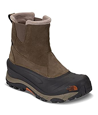 The North Face Men's Chilkat III Pull-On - Mudpack Brown & Bombay Orange - 13