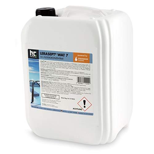 20 Liter (2 x 10 Liter) Aktivsauerstoff Wasserstoffperoxid H2O2 Lerasept® WAT 7 für Pools und Schwimmbäder Chlorersatz