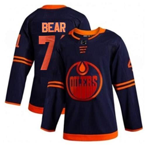 XIAORU McDavid Edmonton Öler Sweatshirts Eishockey Trikots Sportswear Atmungsaktives T-Shirt Langarm Top Weste Paar Hemden Stickereier Trikot,74,XXXL