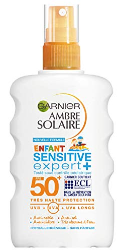 Garnier Ambre Solaire - Sensitive Expert+ - Spray Enfant FPS 50+ - 200 ml