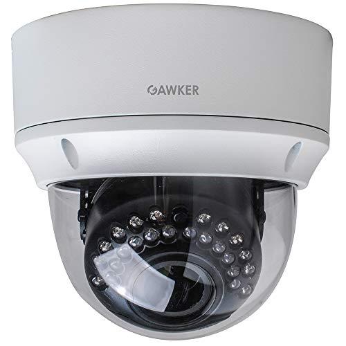 CCTV Security Dome Camera 1080P 4 in 1 HD-TVI (default) /AHD/CVI/CVBS,True day&night,IP66 Vandal proof,2.8-12mm lens,DC12V/AC24V.