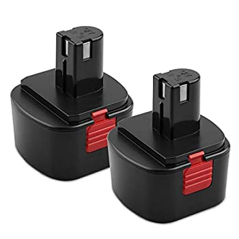 Energup 2Pack 3500mAh NiCd Lincoln Replacement Battery for Lincoln 12V Battery LIN-1244 LIN-1242 LIN-1201 Lincoln Grease Guns 12V Battery