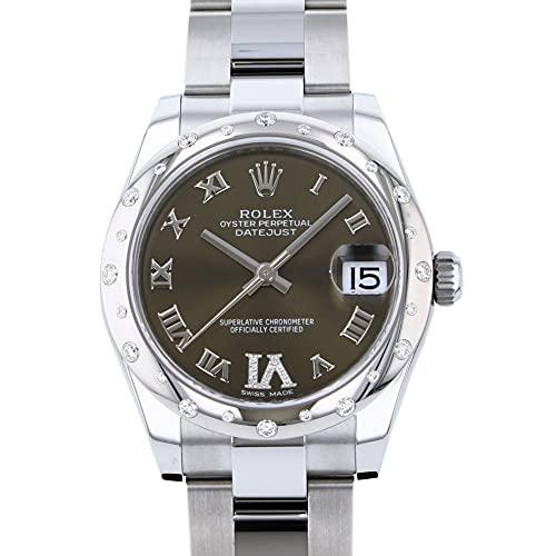 ロレックス ROLEX デイトジャスト 178344G ブロンズローマ(VIダイヤ) 文字盤 腕時計 レディース (W194312) [並行輸入品]
