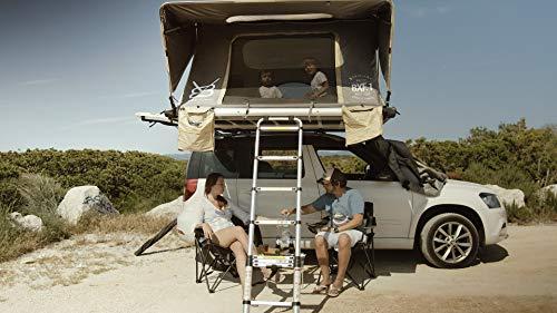 V8 Equipment Tente DE Toit 4 Places (BXF.1) - Tente DE Toit pour Voiture OU 4X4 - Tente DE Toit Famille - Family ROOFTENT