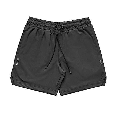 2020 Summer Men's Fitness Quick Drying Shorts Men's Loose Straight Multi Pocket Sports Pants Training Basketball Pants