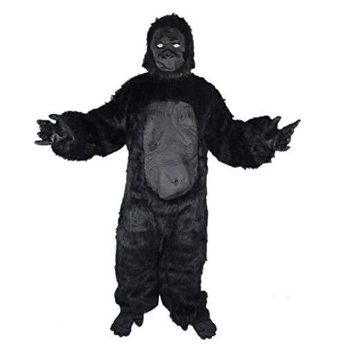 NBRTT Disfraz de Halloween Gorila para niños, Forma Realista, Disfraz de Hombre, Traje Disfraces Profesionales.
