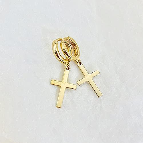YFZCLYZAXET Pendientes Mujer Pendientes Simples Moda Exquisitos Pendientes Moda Casual Pendientes-Oro Ky0996