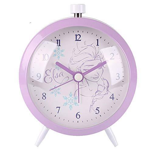 LTLJX Despertador de Dibujos Animados de Altavoces Bluetooth Reloj Despertador FM Radio Digital Display Snooze Tabla Reloj de Escritorio LUDEQUAN