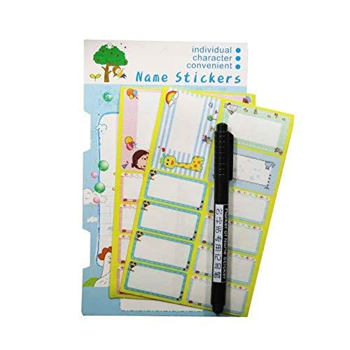 Etiquetas blancas lavables para planchar, etiquetas de tela, para ropa de niño, escuela, accesorios de costura, n.º 2
