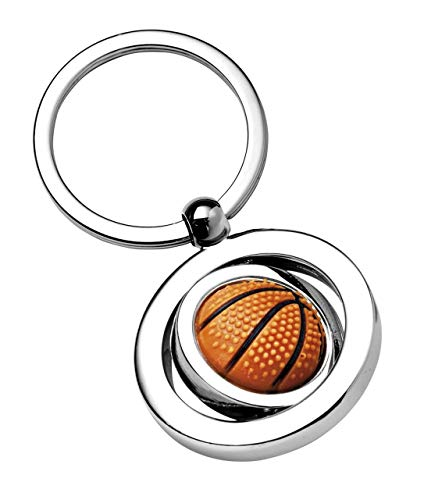 Ten Portachiavi Pallone da Basket Pallacanestro cod.EL7965 cm 7x3,5x1h by Varotto & Co.