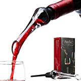 Areatore e Decantatore da Vino Wine Pourer Versatore Anti-Goccia per la Bottiglia Adatto a Bar, Ristoranti, Feste di Famiglia