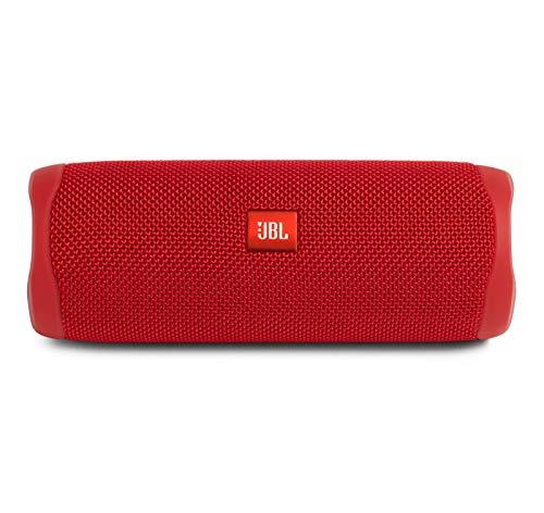 JBL FLIP 5 Waterproof Portable Bluetooth Speaker - Red (Renewed)