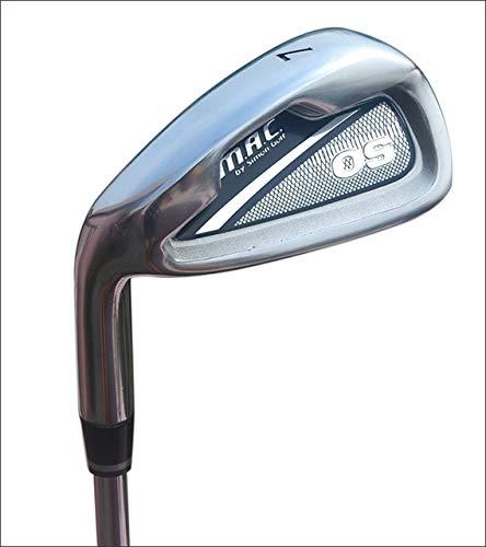 YPSMCYL Golf Herren Club Nr. 7 Eisen Anfänger Rute Männliche Linke Hand Rückhand Übungsstange,Steelrod