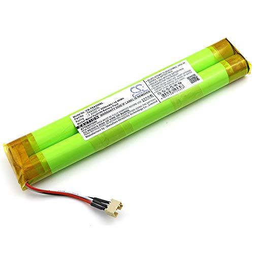 YINHUAN 2000mAh / 14.40Wh 7.2V Batería de Altavoz de por Vida en el Registro A33 (Color : Verde, tamaño : 154.00 x 29.50 x 14.90 mm)
