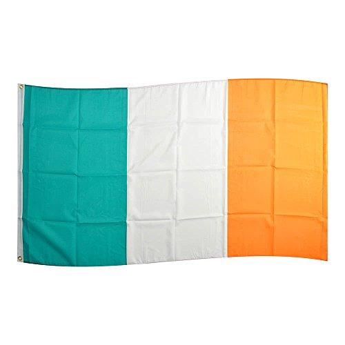 Flaggenking Irland Flagge/Fahne - wetterfest, weiß, 150 x 90 x 1 cm, 16897
