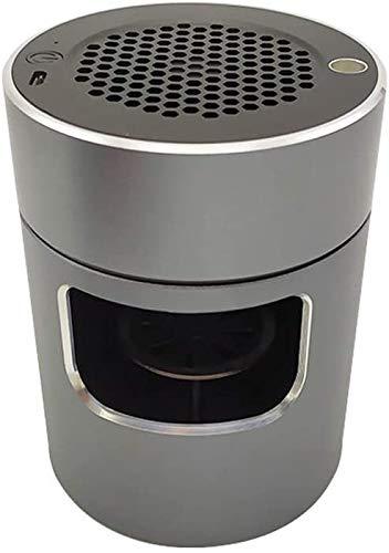 XIAOXIA Tragbarer Auto-Aschenbecher-Luftreiniger Für Den Innenbereich In Allen Auto-Home-Büro-Aschenbecher Rauchloser Aschenbecher (Color : Green)