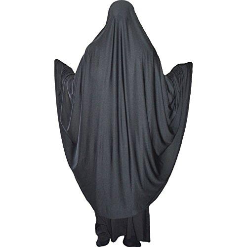 Khimar - Material de licra elástico Hijab de una pieza