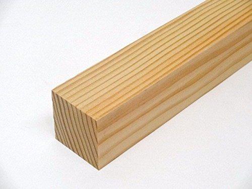 【木芸社】垂木(乾燥材) 無垢角材・タルキ (米松38×38×450mm)
