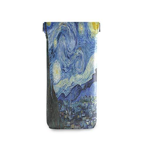 linomo Van Gogh - Funda para gafas de sol (microfibras, piel)