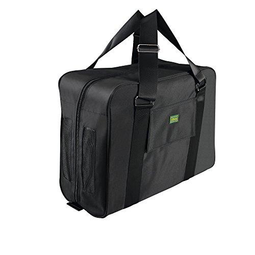 HUNTER Nylon Flight Bag, 45 x 35 x 20 cm, Small, Black