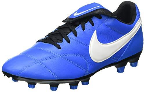 Nike The Premier II FG, Football Shoe Unisex Adulto, Light Photo Blue/Sail-Black, 41 EU
