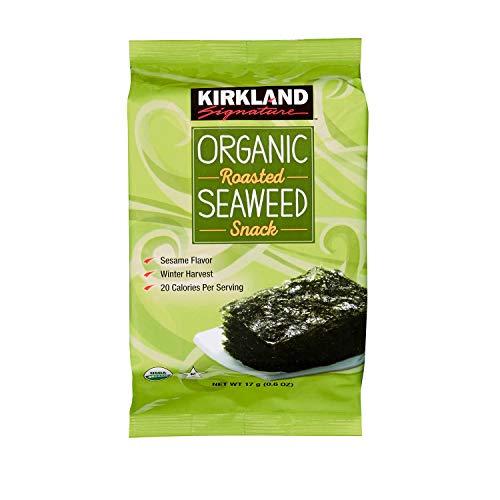 Kirkland Signature Organic Roasted Seaweed 10/.6 oz.